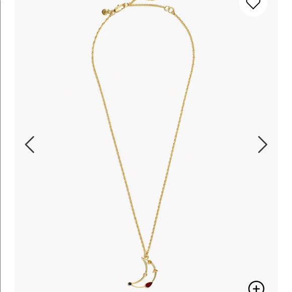 NWT Madewell Finespun Moon Necklace